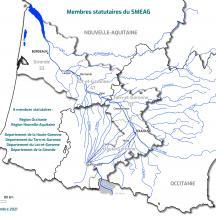 Carte Membres statutaires du Sméag