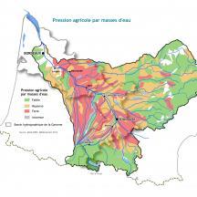 Carte pressions activités agricoles