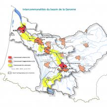 Carte intercommunalités riveraines