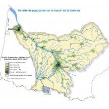 Carte densité de population
