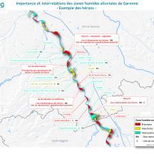 Pôles et fonctions de la Garonne